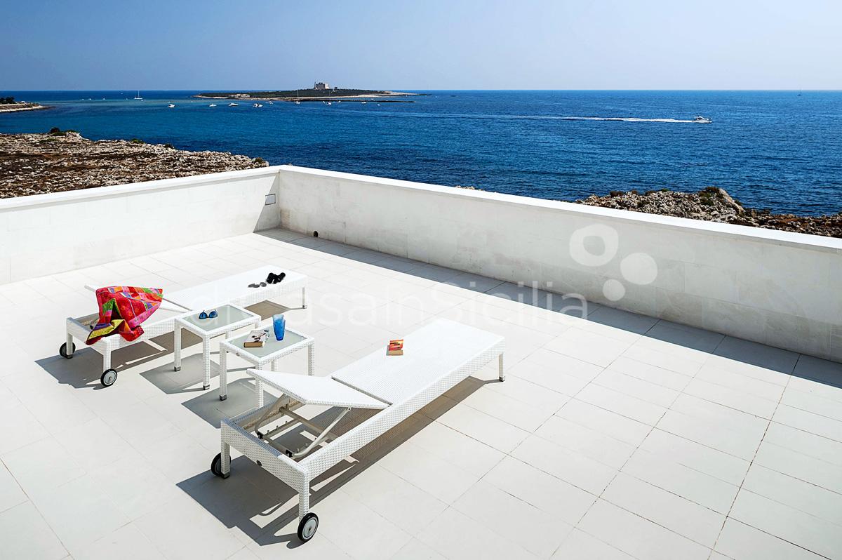 Villa Capo Passero Luxusvilla mit Pool direkt am Meer in Portopalo Sizilien - 14