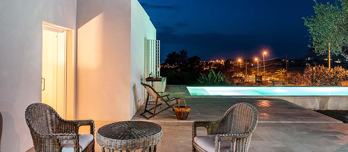 Villa dei Pini Villa with Infinity Pool for rent in Cornino Sicily  - 3