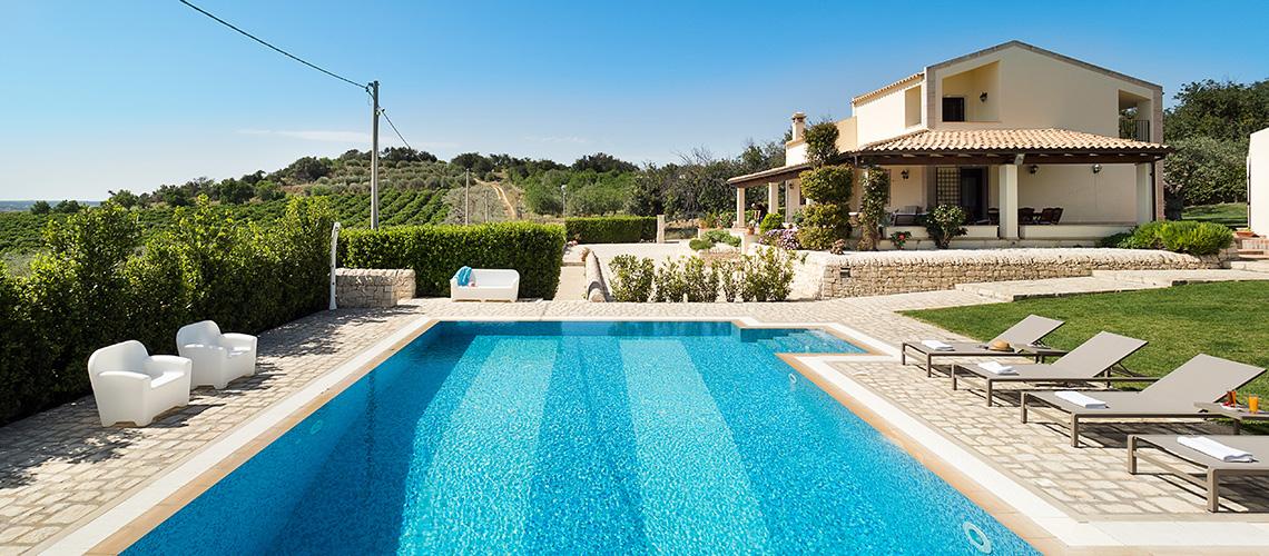 Villa Dora Villa con Piscina con Idromassaggio in affitto Noto Sicilia - 48