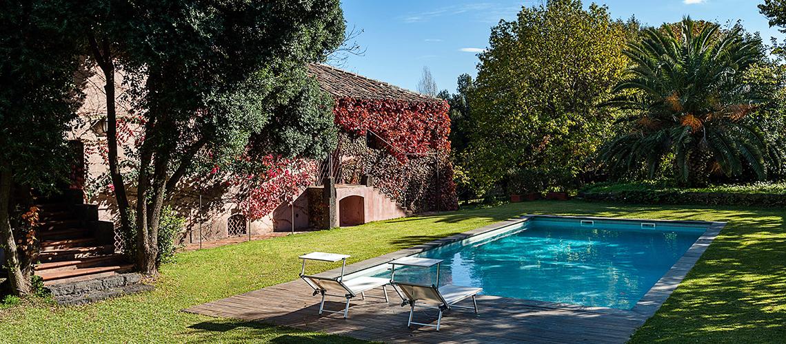 Villa Flora Villa con Piscina in affitto a Trecastagni Etna Sicilia - 33