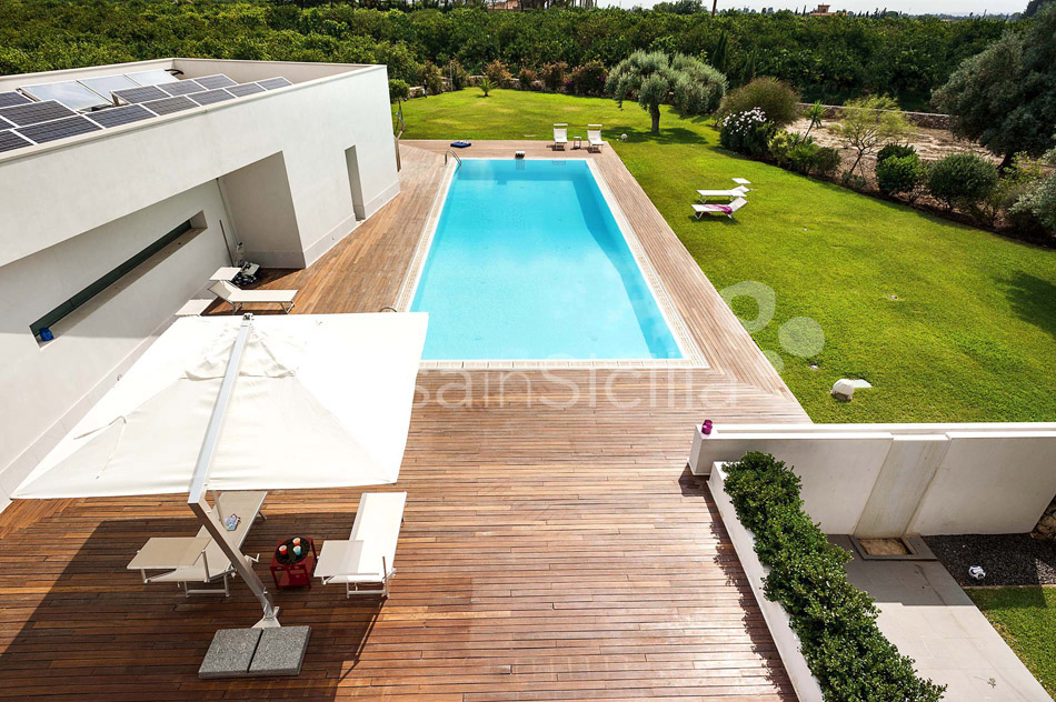 Villa Floridia Design Villa with Pool for rent near Syracuse Sicily - 5