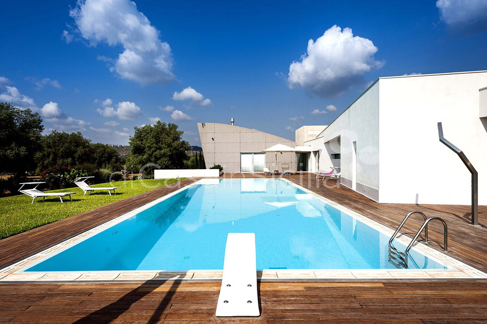 Villa Floridia Design Villa with Pool for rent near Syracuse Sicily - 9