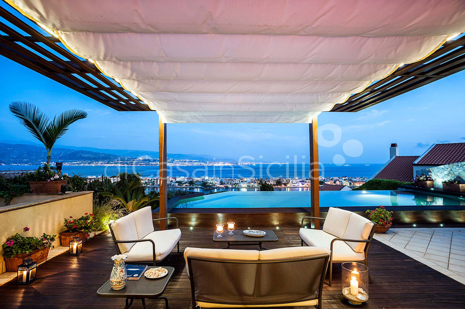 Villa Ghadir Luxury Villa with Pool for rent Messina Sicily - 7