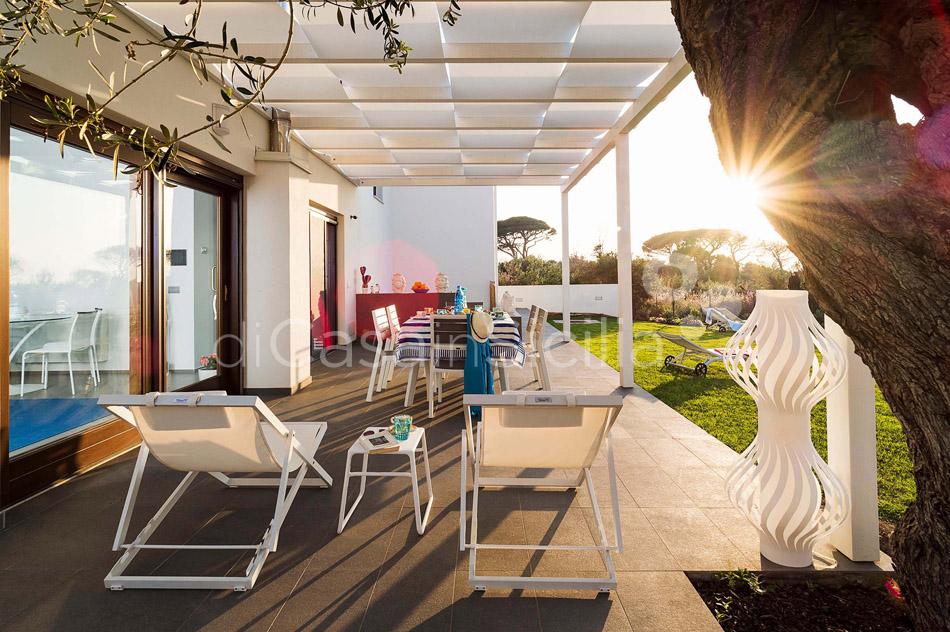 Villa Hera Sizilien Strandvilla mit Direktzugang zum Meer zur Miete Cefalù  - 12