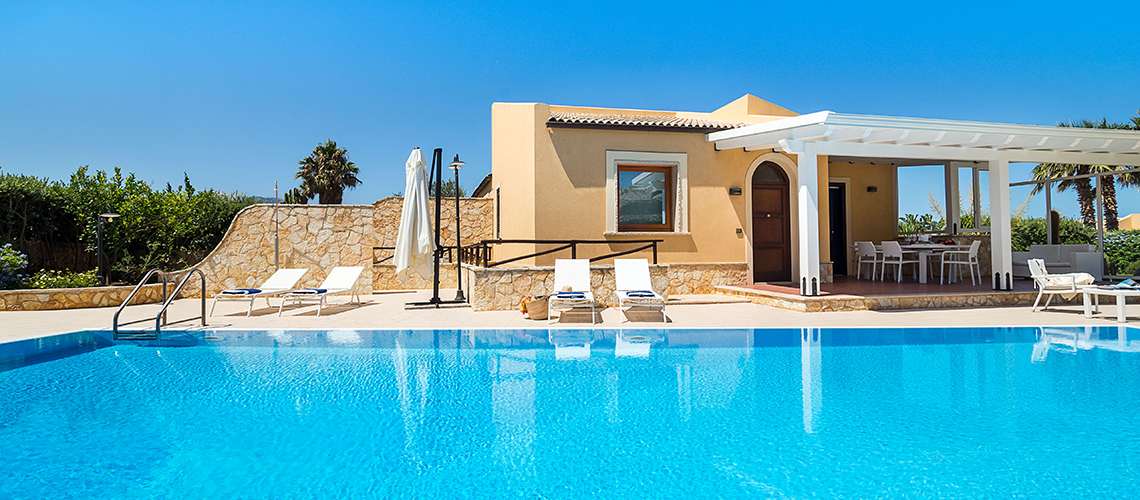 Afrodite Sicily Villa by the sea with Pool for rent in Cornino  - 0
