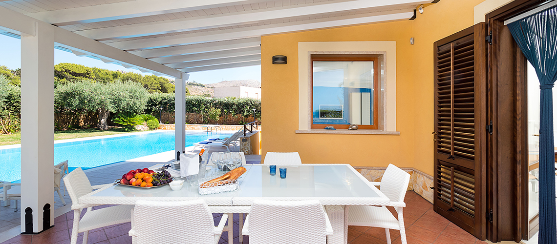 Afrodite Sicily Villa by the sea with Pool for rent in Cornino  - 1
