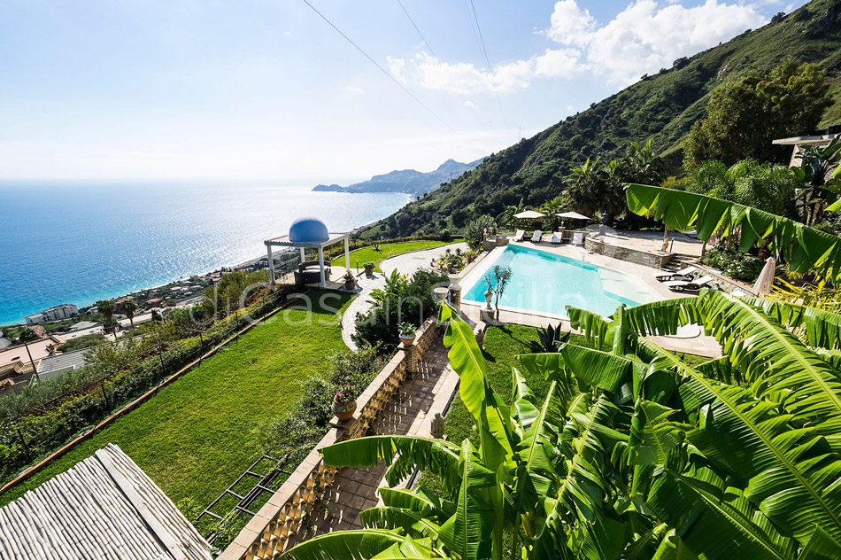 Buena Vista Luxury Seafront Villa with Pool for rent Taormina Sicily - 5