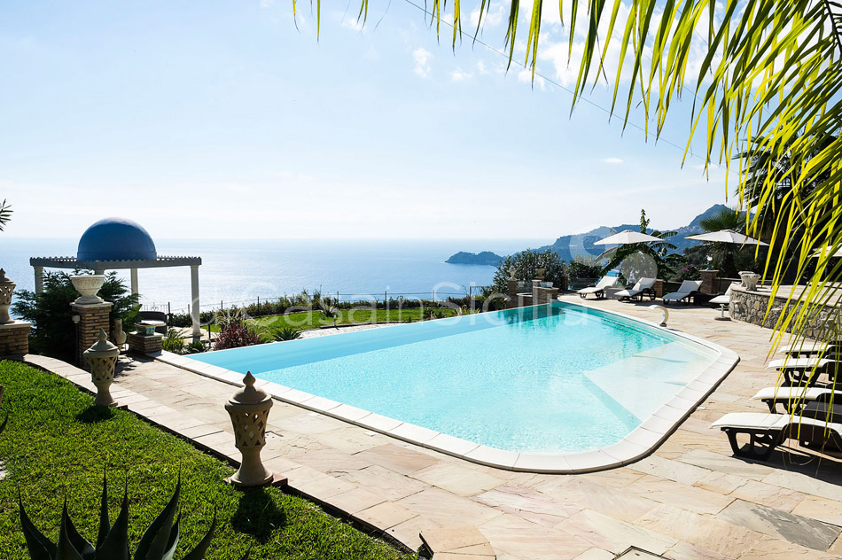 Buena Vista Luxury Seafront Villa with Pool for rent Taormina Sicily - 6