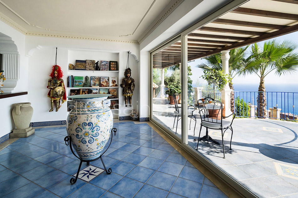 Buena Vista Luxury Seafront Villa with Pool for rent Taormina Sicily - 24