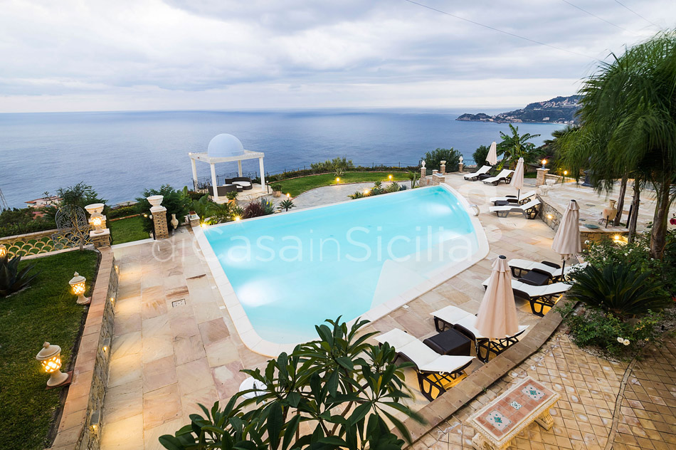 Buena Vista Luxury Seafront Villa with Pool for rent Taormina Sicily - 46