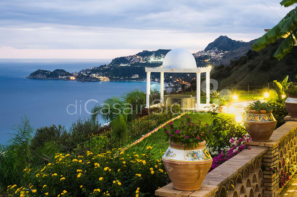 Buena Vista Luxury Seafront Villa with Pool for rent Taormina Sicily - 47