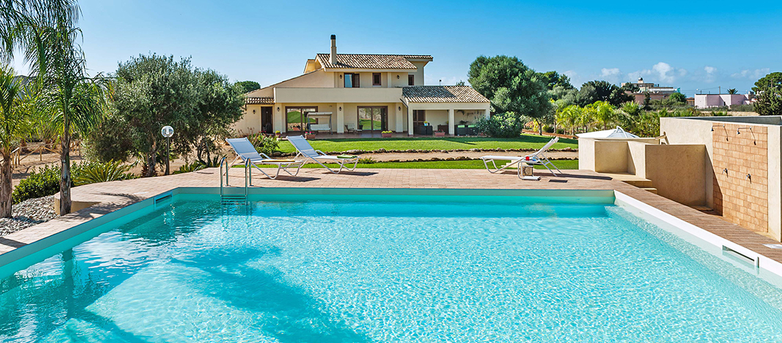 Villa Laura Villa with Swimming Pool for rent in Marsala Sicily - 0