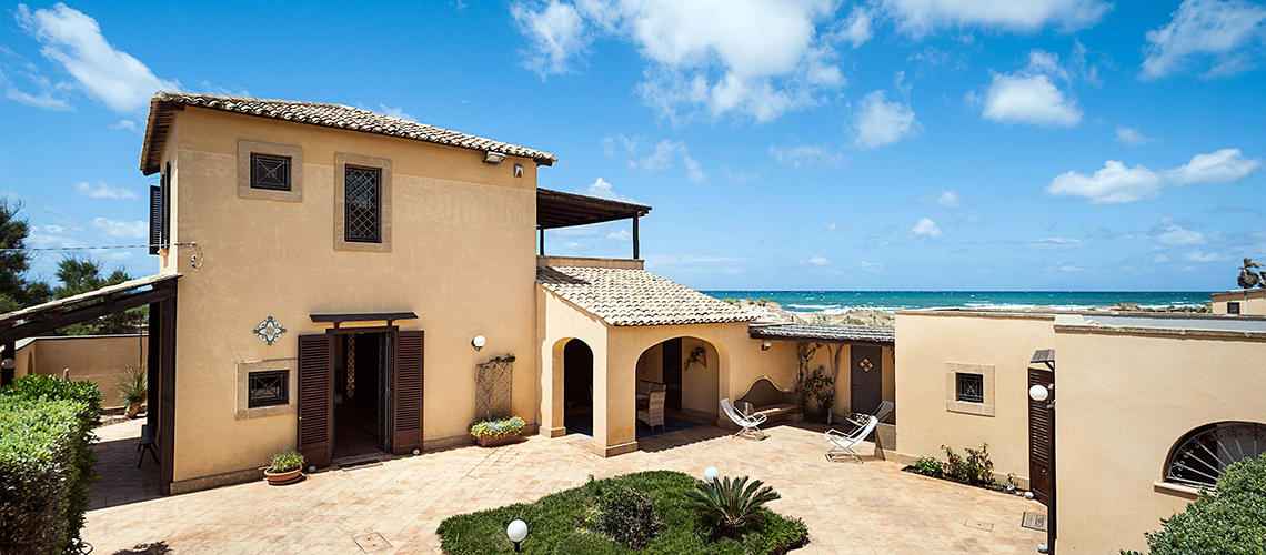 Villa Morena Beach Villa for rent in Marsala Sicily  - 0