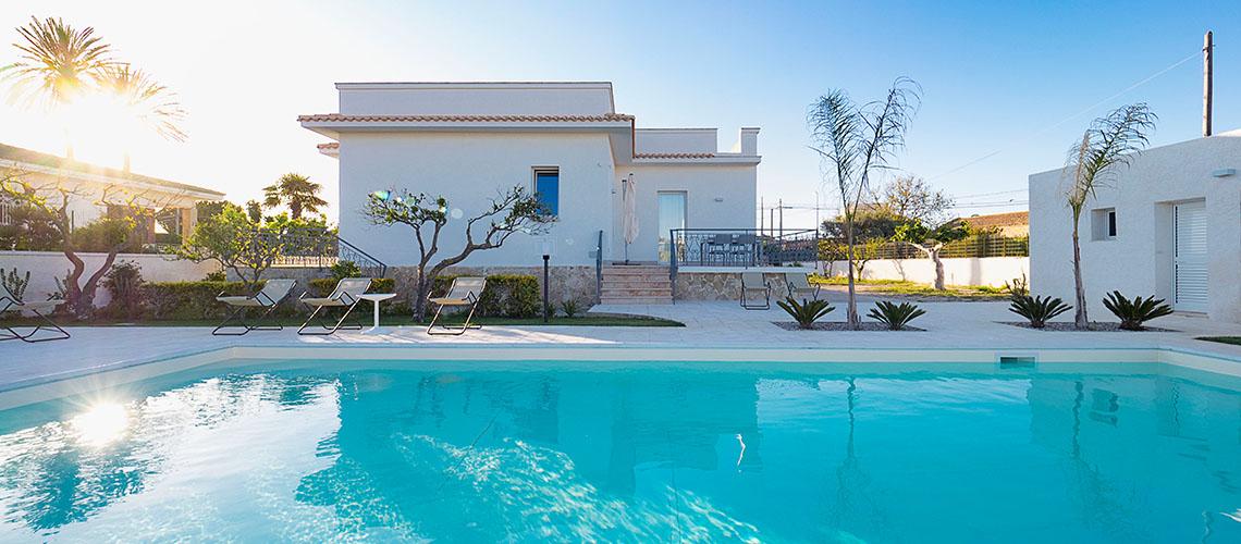 Rita Villa con Piscina vicino alla spiaggia in affitto Marsala Sicilia  - 0