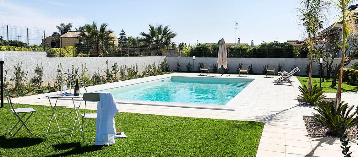 Rita Villa con Piscina vicino alla spiaggia in affitto Marsala Sicilia  - 1