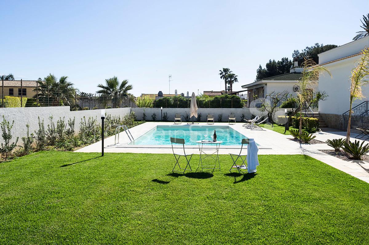 Rita Villa con Piscina vicino alla spiaggia in affitto Marsala Sicilia  - 12