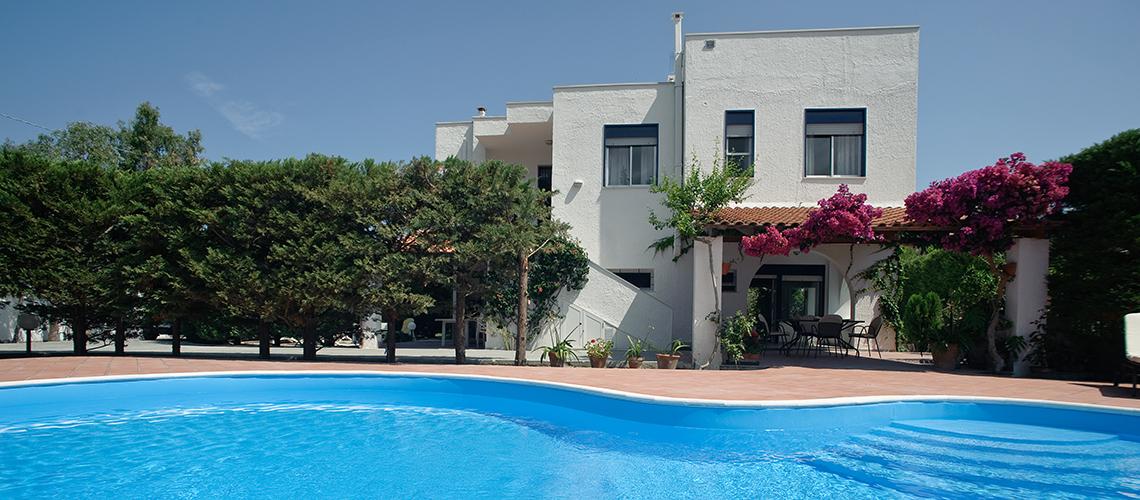 Villa Verdemare Beach Villa with Pool for rent in Patti Messina Sicily - 0
