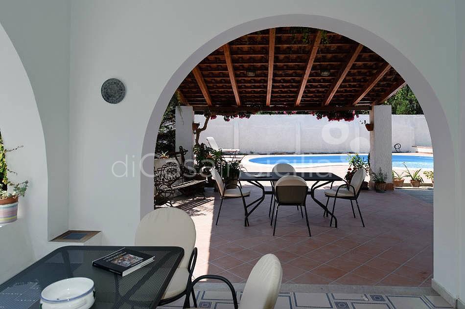 Villa Verdemare Beach Villa with Pool for rent in Patti Messina Sicily - 12