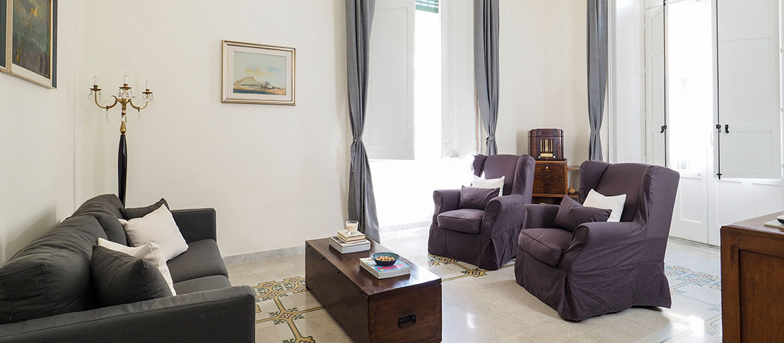 Zia Emma Apartment with Terrace for rent in Noto Sicily - 1
