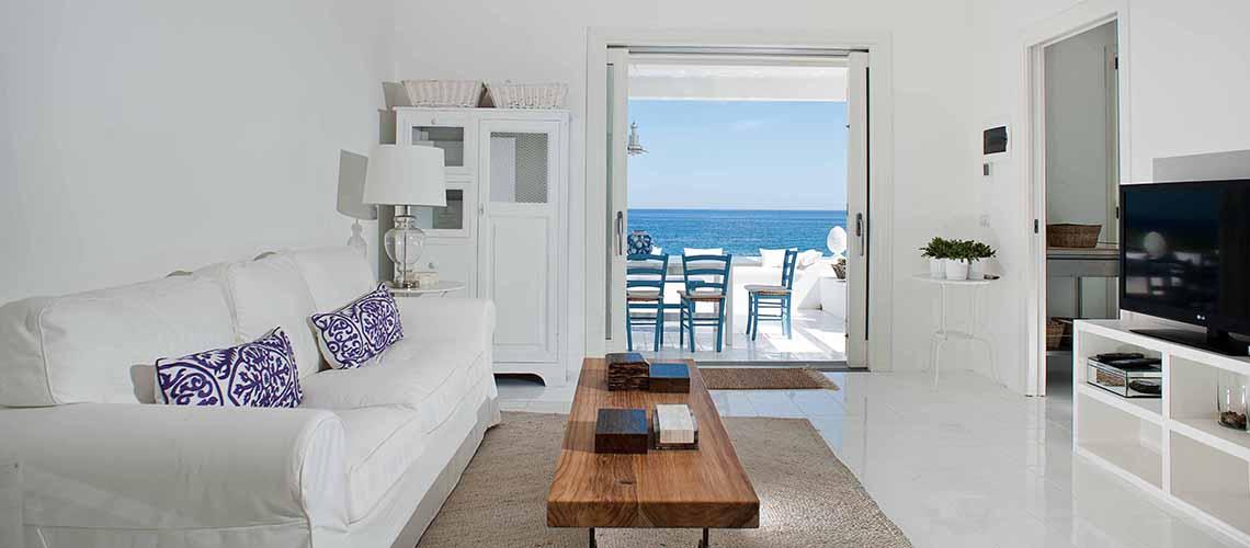 Casa Blu Villa direkt am Meer zur Miete in Fontane Bianche Sizilien  - 2
