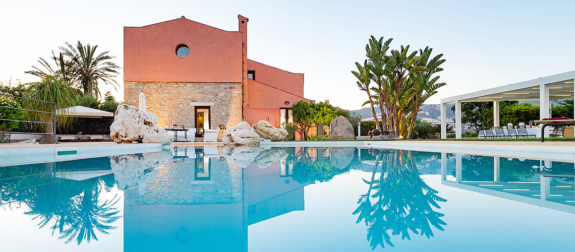 Ager Costa Large Luxury Villa with Pool for rent near Trapani Sicily - 0
