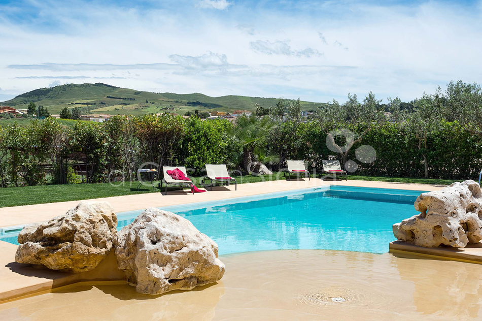 Ager Costa Large Luxury Villa with Pool for rent near Trapani Sicily - 15