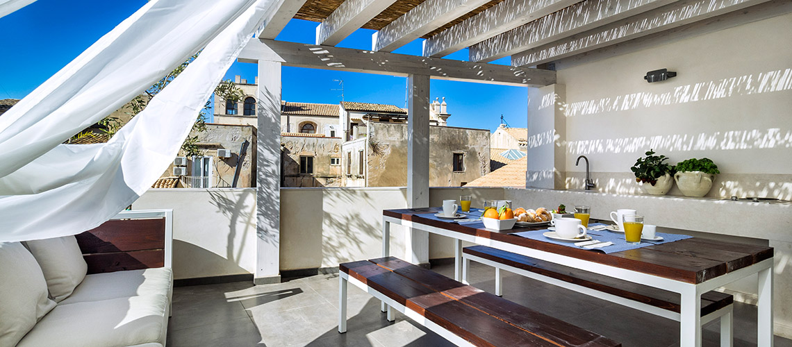 Casa Ortigia House with Terrace for rent in Ortigia Syracuse Sicily - 30