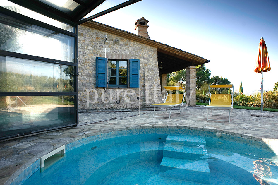 Holiday country homes with Jacuzzi, Umbria | Pure Italy - 9