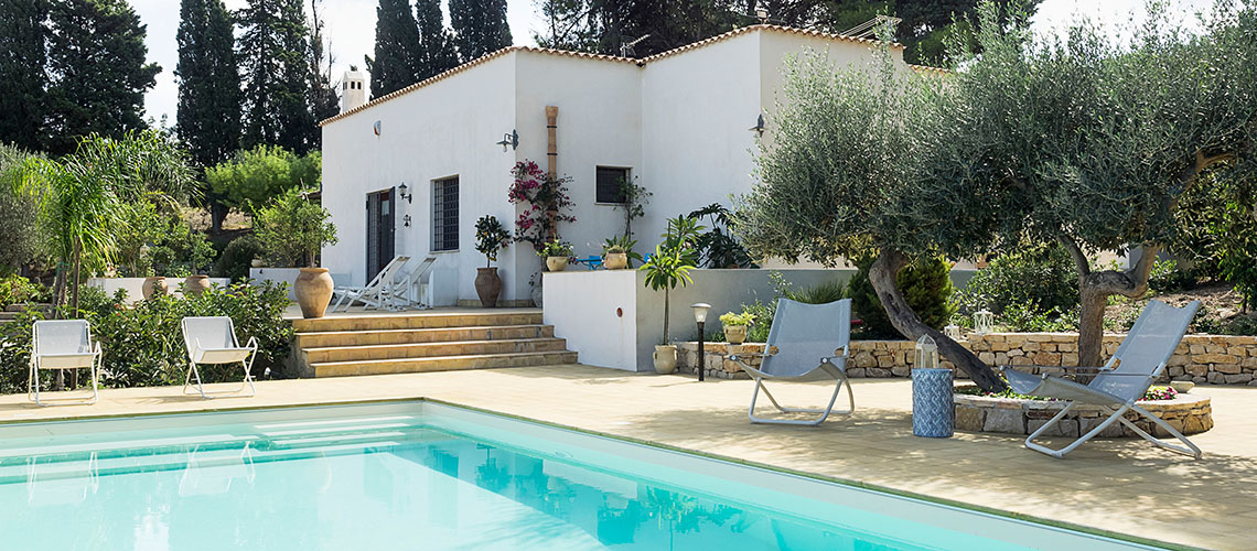 Casa Valderice Sea View Villa with Pool for rent near Erice Sicily - 1