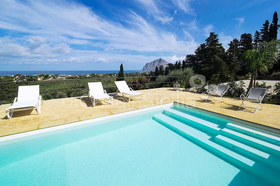 Casa Valderice Sea View Villa with Pool for rent near Erice Sicily - 6