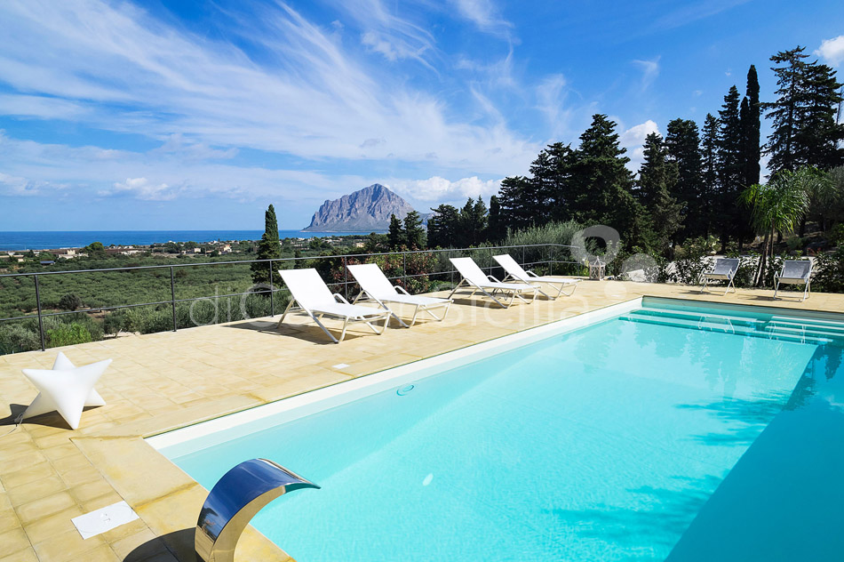 Casa Valderice Sea View Villa with Pool for rent near Erice Sicily - 7