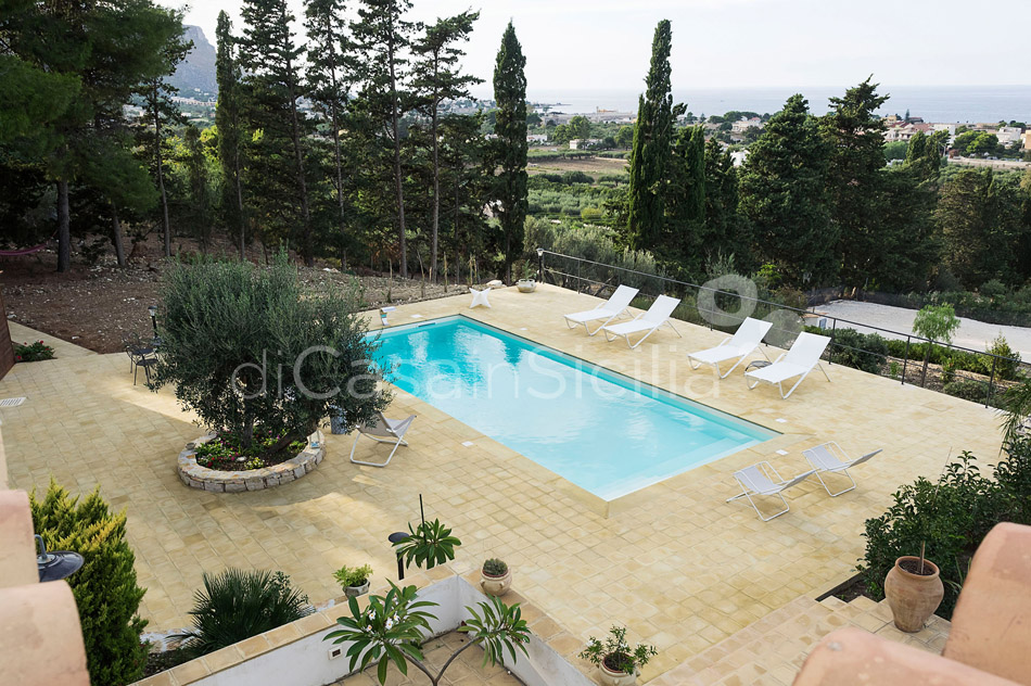 Casa Valderice Sea View Villa with Pool for rent near Erice Sicily - 12