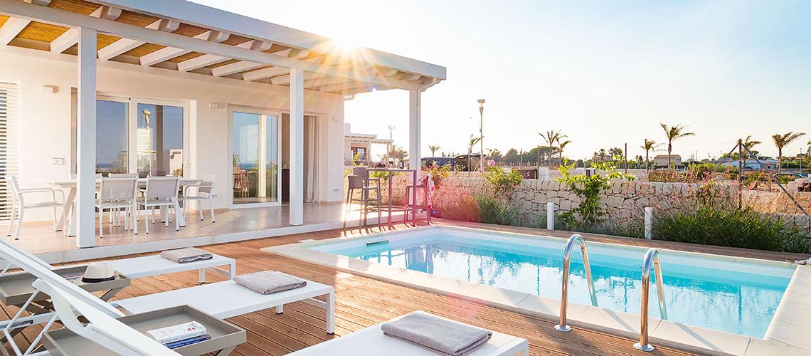 San Lorenzo Palma Sicily Villa Rental with Pool by the Sea Marzamemi - 0