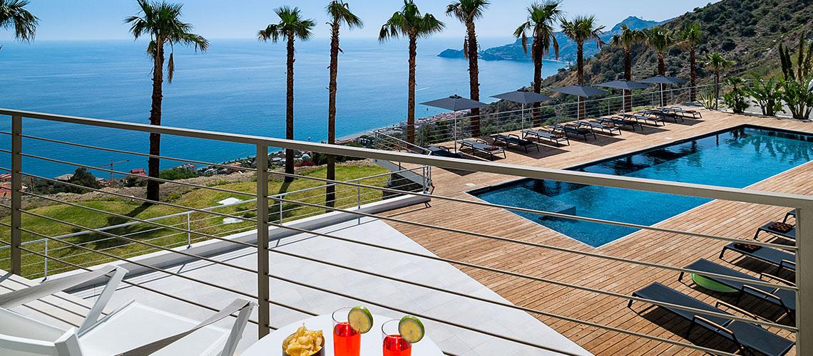 Alexandra Villa Lusso Vista Mare con Piscina affitto Taormina Sicilia - 0