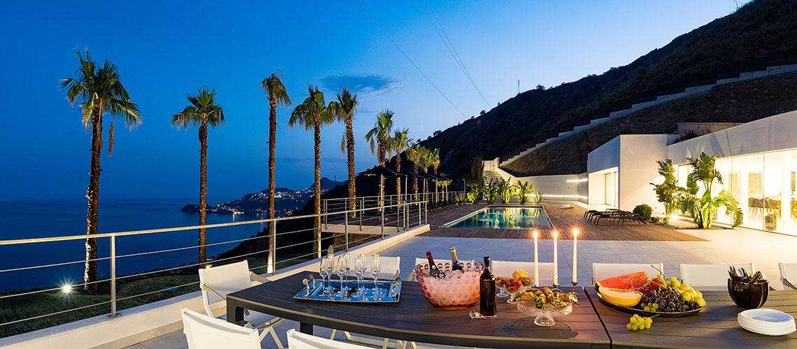 Alexandra Villa Lusso Vista Mare con Piscina affitto Taormina Sicilia - 1