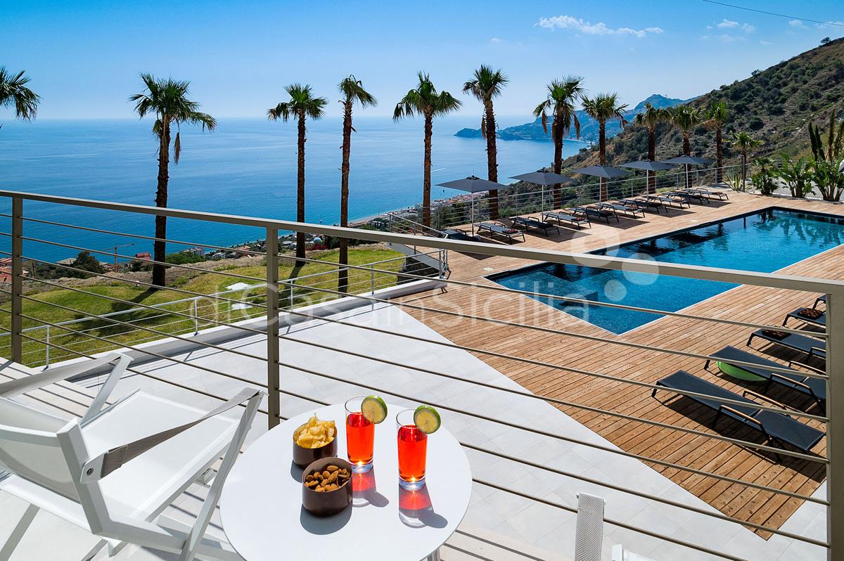 Alexandra Villa Lusso Vista Mare con Piscina affitto Taormina Sicilia - 4