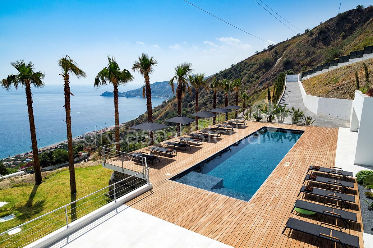 Alexandra Villa Lusso Vista Mare con Piscina affitto Taormina Sicilia - 5