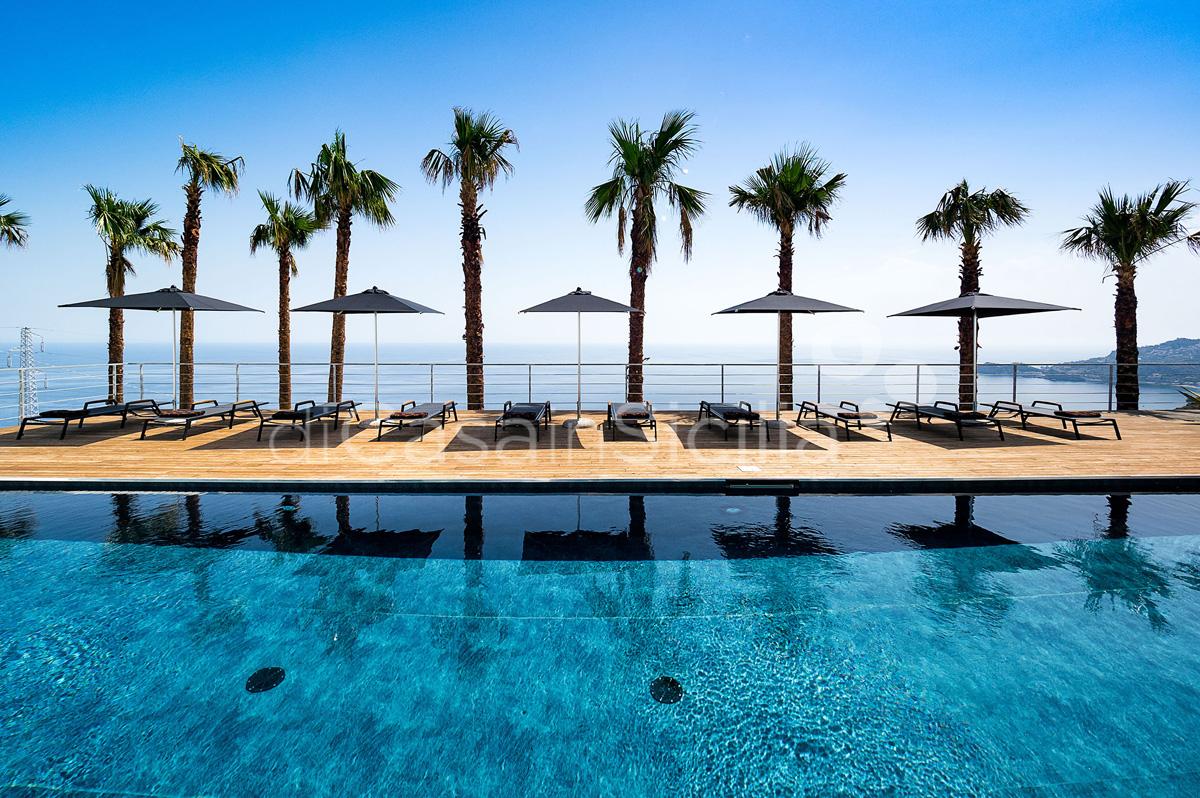 Alexandra Villa Lusso Vista Mare con Piscina affitto Taormina Sicilia - 7