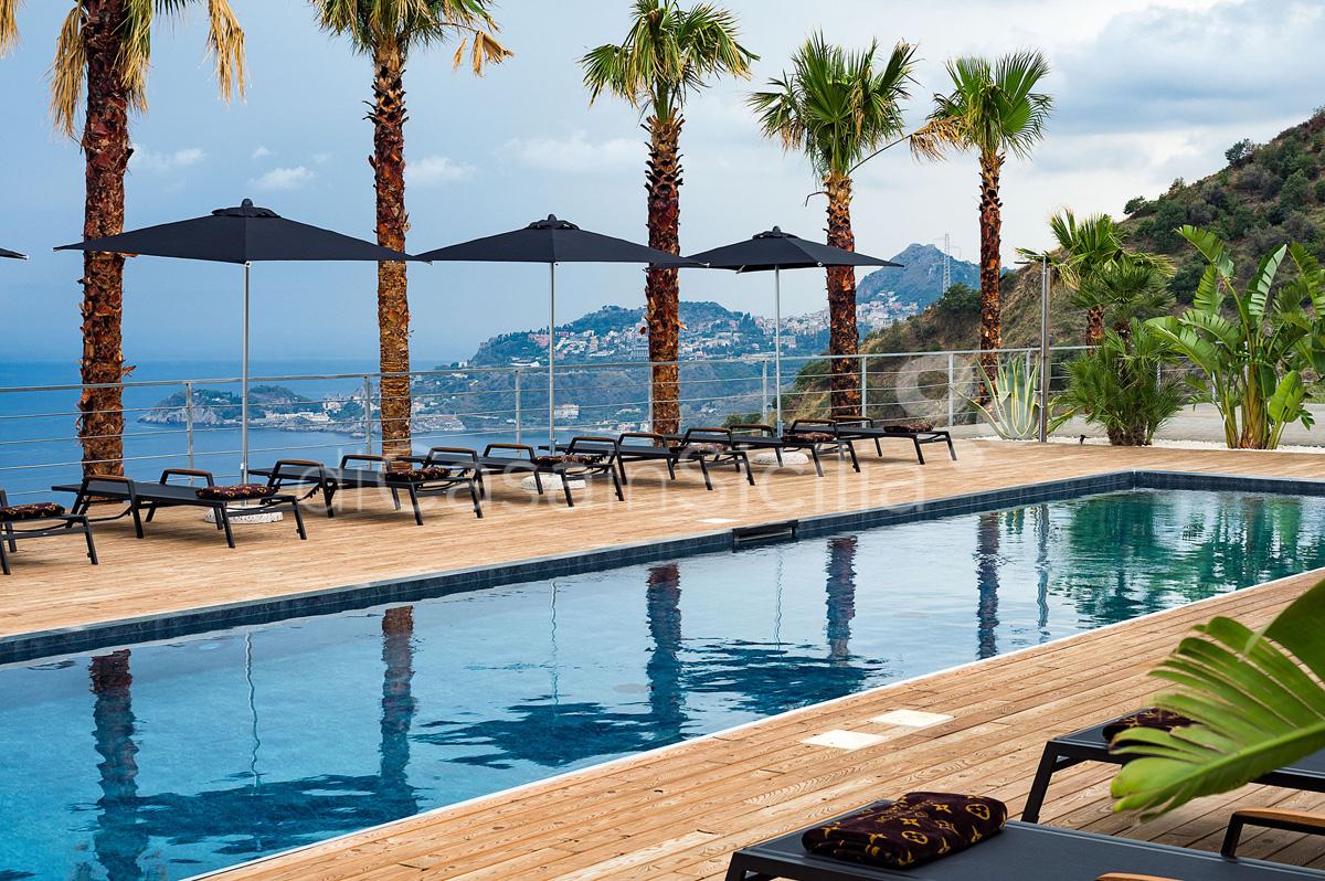 Alexandra Villa Lusso Vista Mare con Piscina affitto Taormina Sicilia - 8