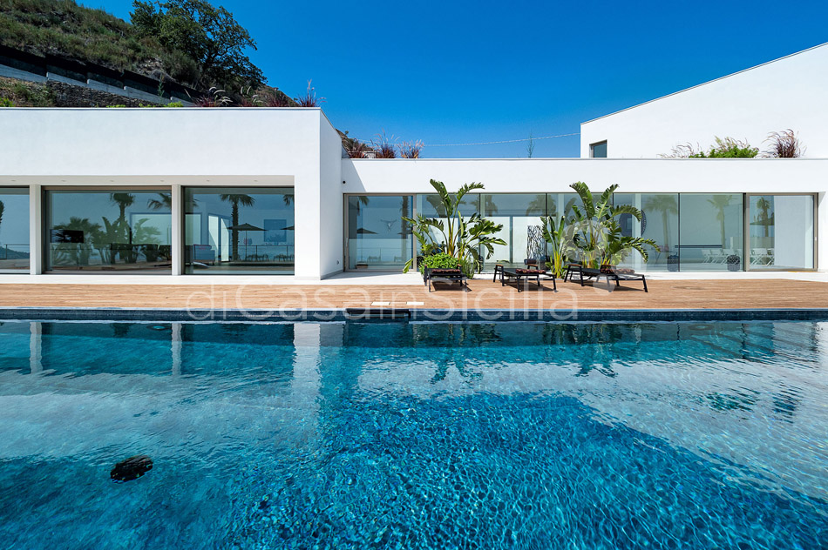 Alexandra Villa Lusso Vista Mare con Piscina affitto Taormina Sicilia - 9