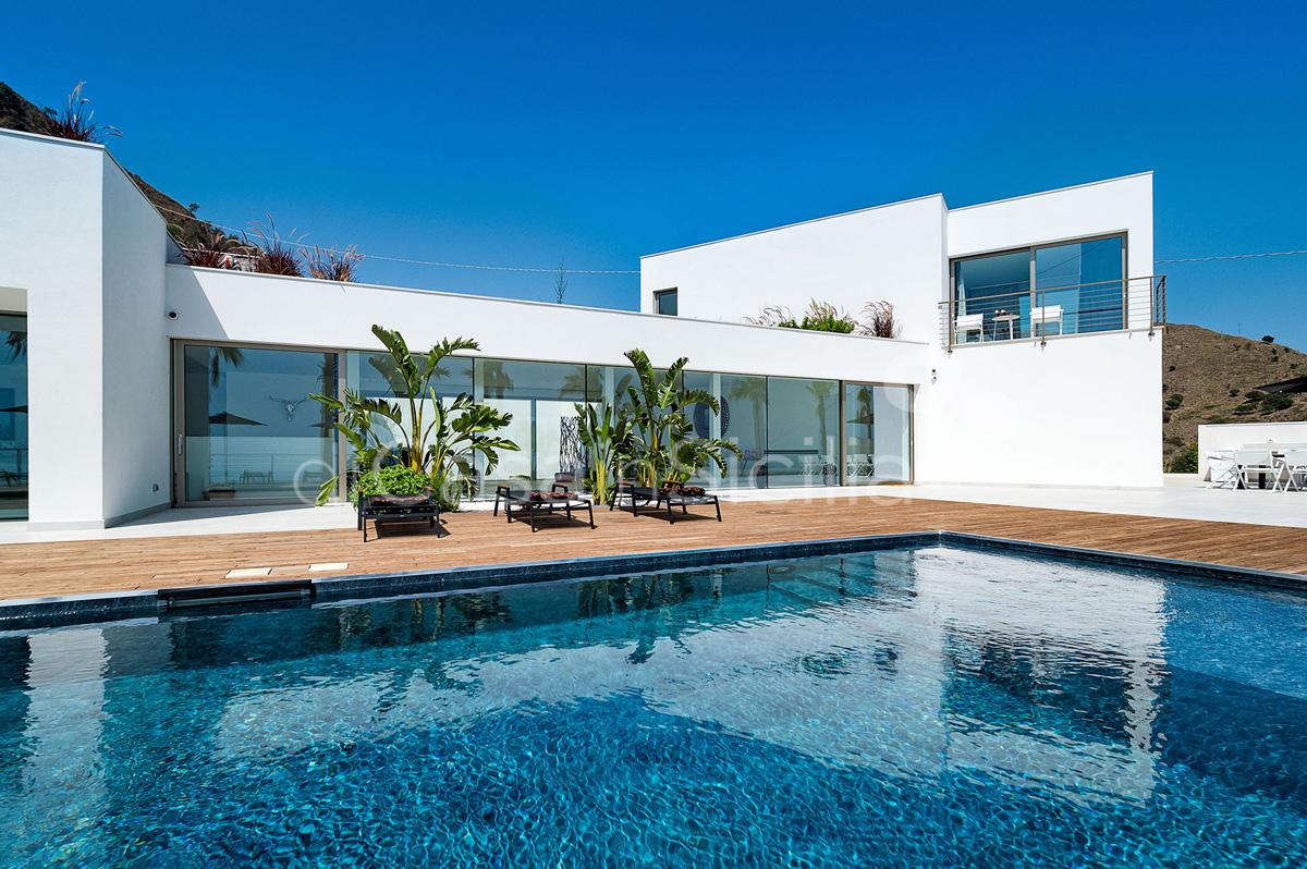 Alexandra Villa Lusso Vista Mare con Piscina affitto Taormina Sicilia - 10