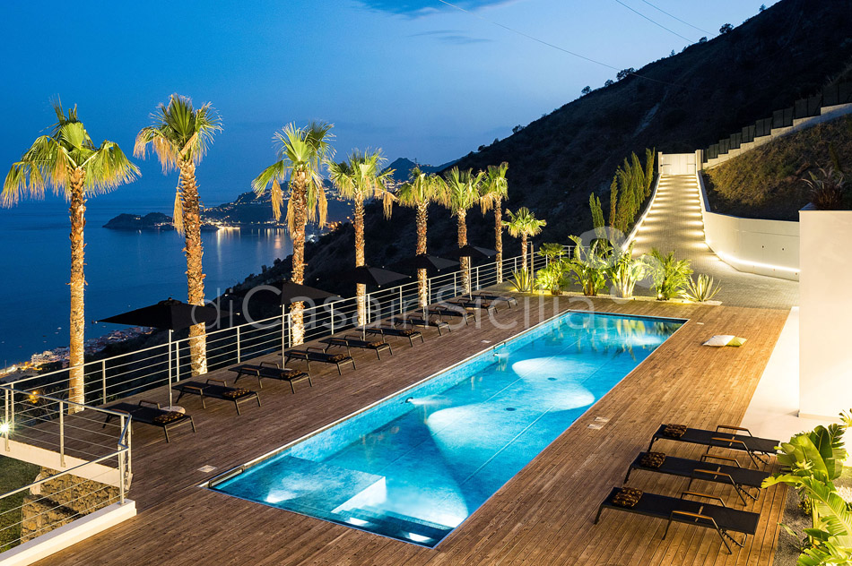 Alexandra Villa Lusso Vista Mare con Piscina affitto Taormina Sicilia - 16