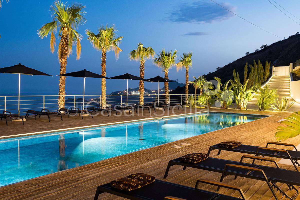Alexandra Villa Lusso Vista Mare con Piscina affitto Taormina Sicilia - 17