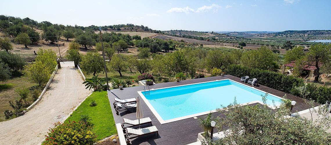 Villa Mara Sicily Villa Rental with Pool near Rosolini Noto - 0