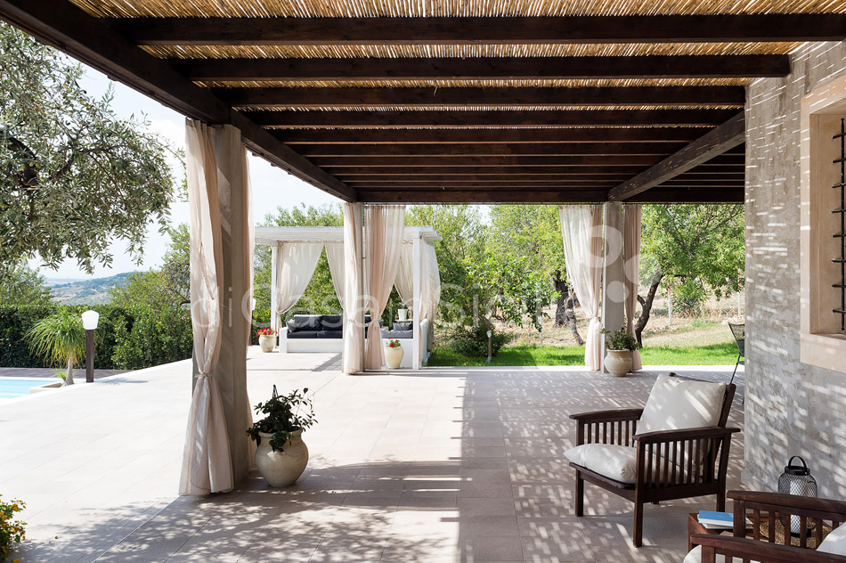 Villa Mara Sizilien Villa mit Pool bei Rosolini Noto zur Miete  - 21