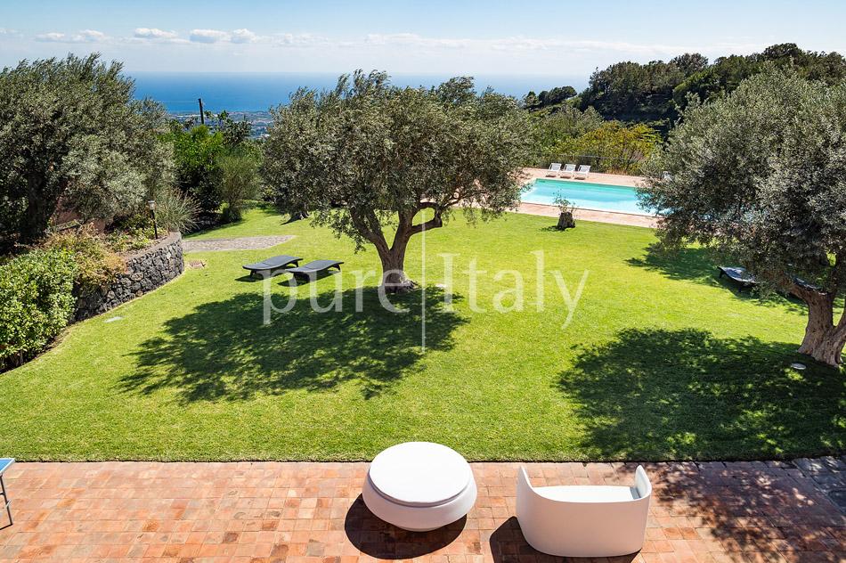 Villen mit Pool und Meerblick am Ätna   Pure Italy - 5
