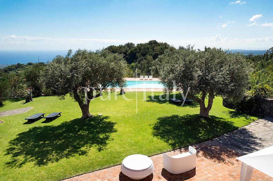 Villen mit Pool und Meerblick am Ätna   Pure Italy - 6
