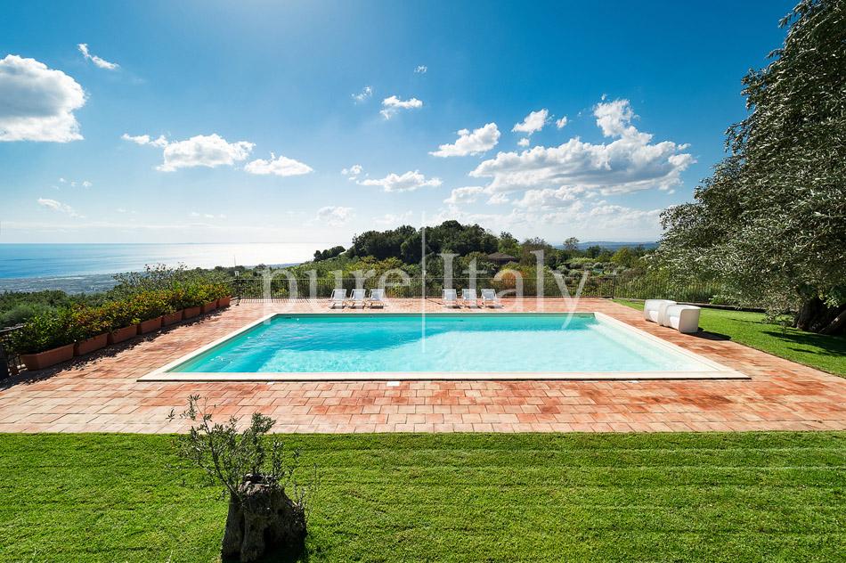 Villen mit Pool und Meerblick am Ätna   Pure Italy - 9