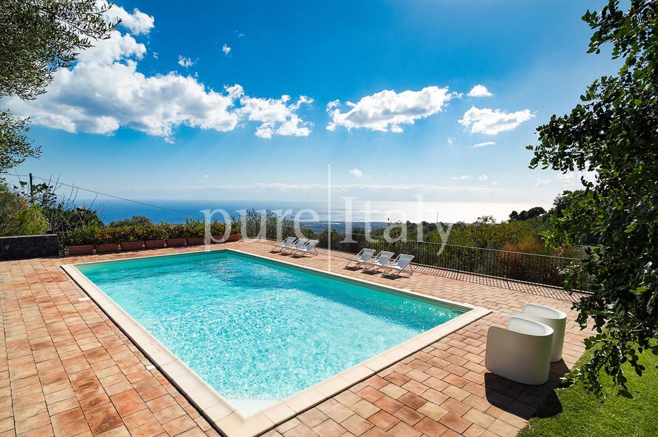 Villen mit Pool und Meerblick am Ätna   Pure Italy - 10