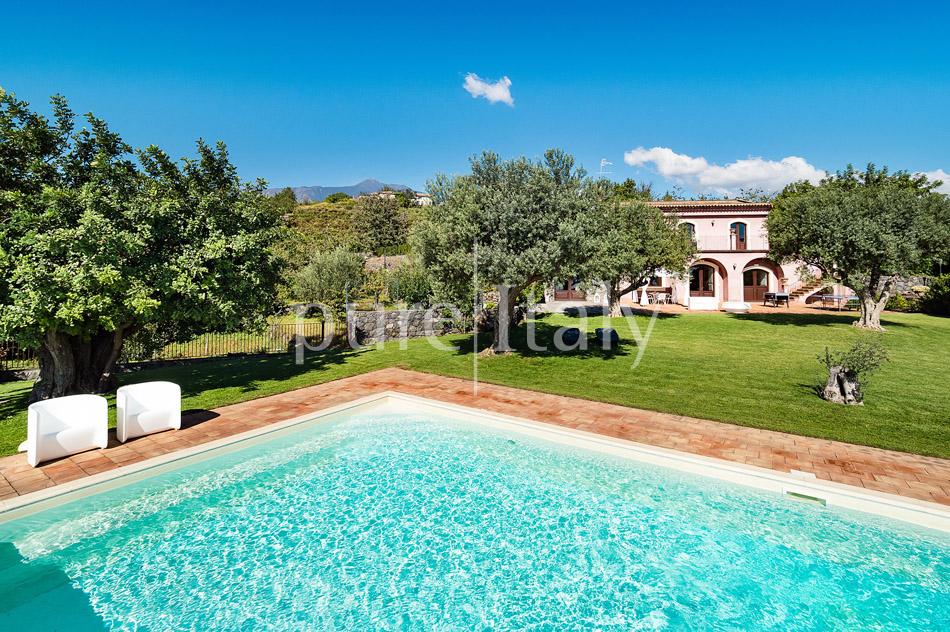 Villen mit Pool und Meerblick am Ätna   Pure Italy - 13